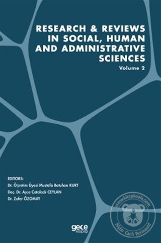 Research and Reviews in Social, Human and Administrative Sciences Volu